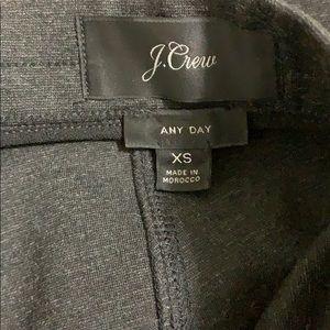 J. Crew Pants - J Crew Any Day Dark Gray Ponte Pants Sz XS NWOT